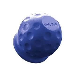 Softball blau